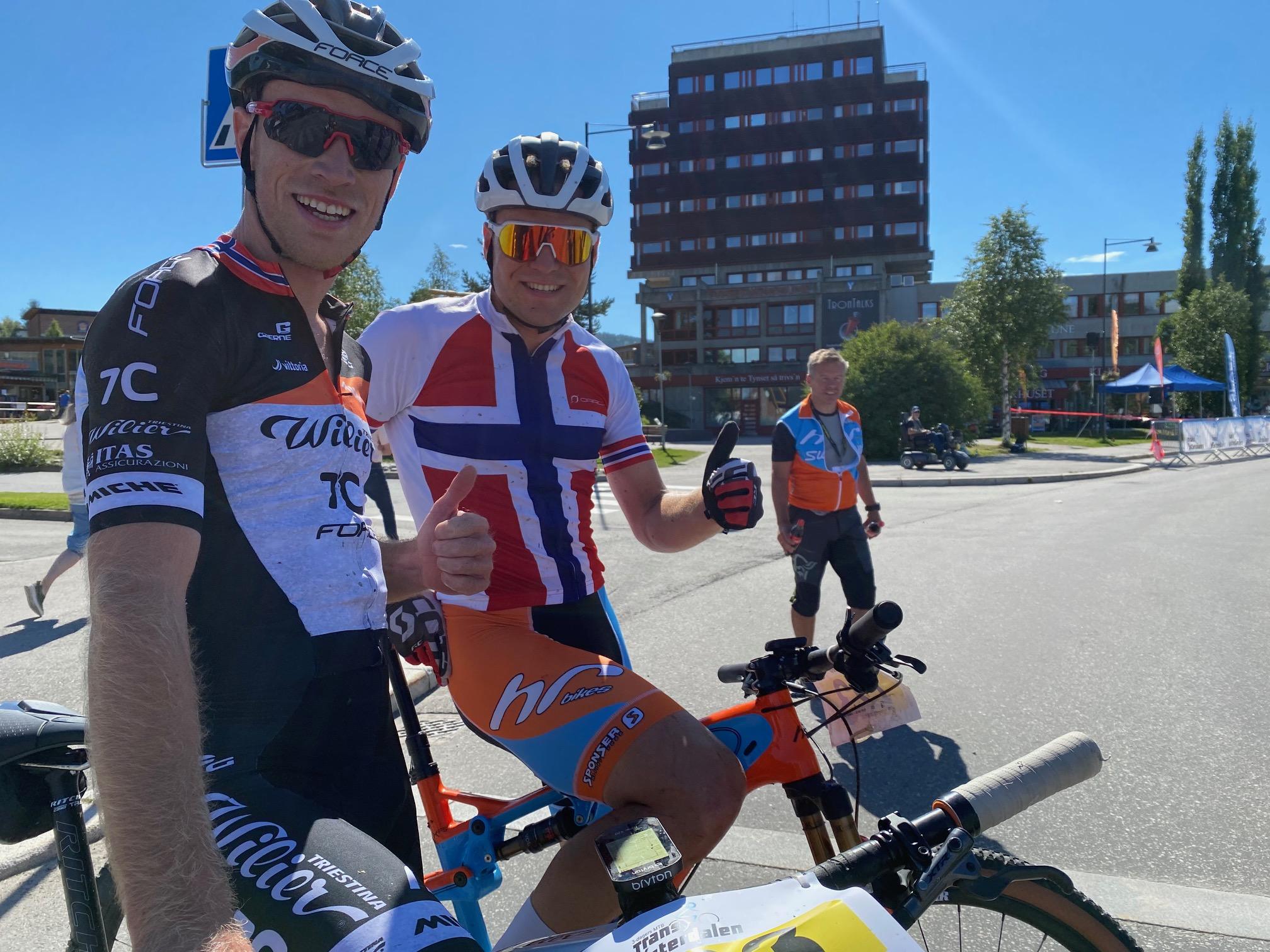 Lørdags etappen vunnet av Ole Hem